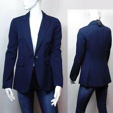M&S Ladies Tailored BLAZER JACKET ~ Size 10 ~ NAVY
