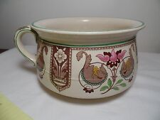 1871 Vintage Brownfield and Son's Stoneware Chamber Pot