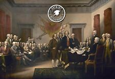 Signers of the Constitution - Patriot Descendant  24 x16 inch Art Quality Print