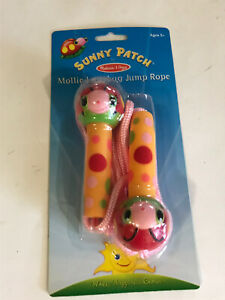 Melissa & Doug Sunny Patch Mollie and Bollie Ladybug Jump Rope for Kids