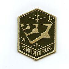 RCAF CAF Canadian 431 Snowbirds Speedbird Squadron OD Crest Patch