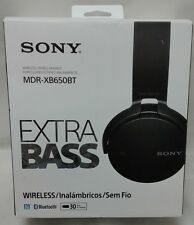 NEW OPEN BOX - Sony MDRXB650BT/B Extra Bass Over-Ear BT Headphones $189 - READ