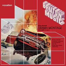 Brian Bennett Drama Montage Volumes 1 & 2 (Bruton Music) - 2CDSML8511