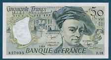 FRANCE - 50 FRANCS QUENTIN DE LA TOUR Fayette n°67.6 de 1980 en NEUF F.18 857035