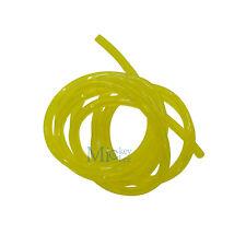 2mm ID X 5mm OD Yellow Tygon Tube Fuel Hose Fuel Line For Stihl Husqvarna 1.4M