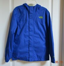 The North Face Blue Lightweight Hyvent Rain Jacket Mesh Lined Boys 14/16