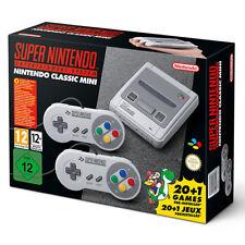 In Magazzino Super Nintendo Mini Classic SNES Entertainment System-GRATIS P&P