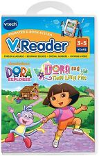 VTech V.Reader Dora The Explorer And The Three Little Pigs E Book Learning Games