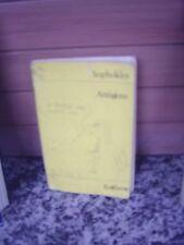 Antigone, un trop Livre de Sophocle