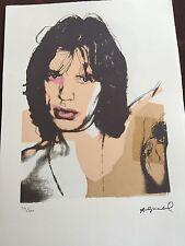 Andy Warhol Litografia 57 x 38 Arches France Timbro Secco Galleria Arte Je005