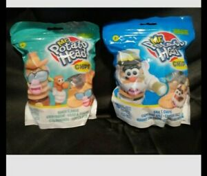 Puzzle Mr Potato Head Chips   Lot of 2 Characters  10 Pieces Each