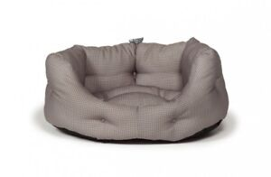Vintage Dogstooth Deluxe Slumber Bed 24''