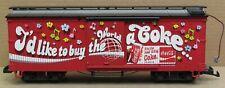 LGB 46672 Coca-Cola Melody Sound Boxcar G-Gauge *no box*