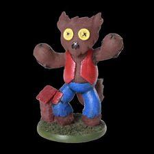 *HOWLY MONSTER* Pinhead Monsters Werewolf Art Hand Painted Resin Figurine (10cm)