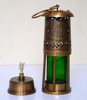 Antique nautical brass oil lamp ship hanging lantern christmas light gift item