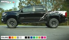 step Decal Graphic Sticker bed wrap for Chevrolet Colorado pickup bar flare vent