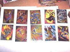 1995 FLEER ULTRA X-MEN SINISTER OBSERVATIONS COMPLETE INSERT 10 CARD SET! BEAST!