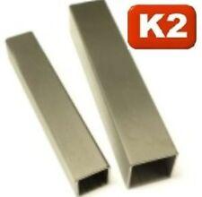 Edelstahl Vierkant rohr,Quadrat,60x60x3 mm,länge 250-1250 mm,V2A