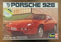 REVELL PORSCHE 928 PLASTIC MODEL KIT H-1411 1/25 Scale 1978 MODEL KIT - SEALED