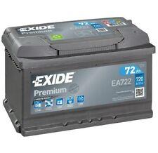 EXIDE Starter Battery PREMIUM *** EA722