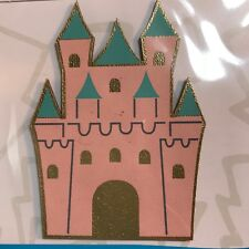NEW Retro Pop Cool Little Patch Things,Pink Castle Embroidered Patch Party Favor