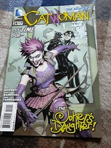 CATWOMAN #24 | Vol. 4 | 1st full Duela Dent as Joker's Daughter | 2013 |