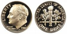 """1985-S 10C Roosevelt  Dime hu /"""" Gem Proof CLAD/""""  Only 50 Cents for Shipping"""