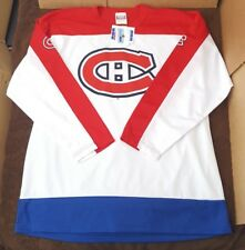Vintage Montreal Canadiens Hockey Jersey 90s Red White Blue Alternate New NOS L