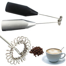 Automatic Milk Frother Electric Handhold Stainless steel Mini Coffee Milk Mixer