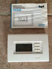 Cronotermostato BPT TH/400 BB da parete bianco