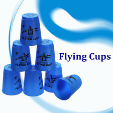 12pcs Speed folding CUP Sport Stacking Flying Rapid Cups Luminous Toy Game US