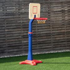 New Indoor Outdoor Basketball Hoop System Stand Adjustable Kids Goal Training