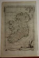 IRELAND 1788 GEORGE HENRY  MILLAR ANTIQUE ORIGINAL COPPER ENGRAVED MAP