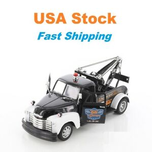 """1953 Chevrolet Tow Truck, Welly, Diecast Model Toy Car, 8"""", 1:24, 4 Colors"""