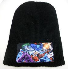 NWT DC COMICS Batman vs HARLEY QUINN JOKER knit BEANIE HAT SUICIDE SQUAD photo