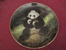 PANDA BEAR collector plate Will Nelson ENDANGERED SPECIES