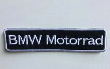 BMW Motorrad logo badge Iron on Sew on Embroidered Patch