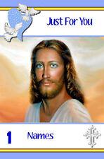 Free P/P-Santo/Tarjeta Religiosa (selección para elegir cualquier ocasión-tus palabras