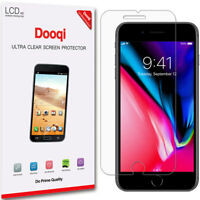 6X Dooqi HD Clear LCD Screen Protector Shield Cover Saver For Apple iPhone 8