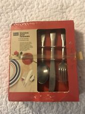 New listing New Sears Chauser Stainless Steel Tableware Flatware 50 Pieces Set Service For 8