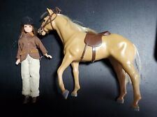 Pippa/Dawn Doll Emma & her Pony by Pallitoy originally from Uk Good condition.