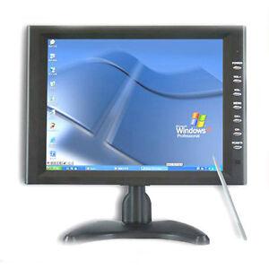 "10.4"" inch AV VGA touchscreen monitor touch screen LCD"