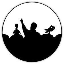 "Mystery Science Theater MST3K 3000 sticker decal 4"" x 4"""