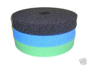 Hozelock Bioforce 9000 / 18000 Foam Sponge Filter Set