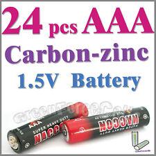 24 x AAA zinc-carbono Baterías uso individual R03P 1212 UM4