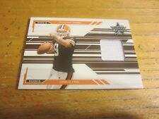 Charlie Frye 2005 Leaf Rookies and Stars #258 #'d 171/750 ROOKIE Relic Browns