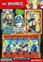 Lego® Ninjago™ Serie 5 Trading Card Game -  Multipack 2 mit LE22 Master Wu