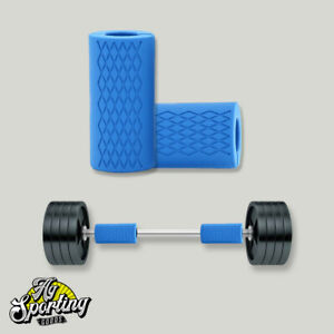 Bar Grips Dumbbell Barbell Silicone Home Gym Arm Wrap Bar Grip For Weights