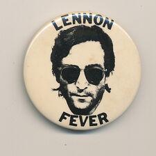 John Lennon Fever vintage button