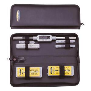 IceToolz E158 Bike Cycling Complete Tap Set with Handle & Storage Pouch Kit